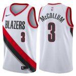 2017-18 CJ McCollum Portland Trail Blazers #3 Association White