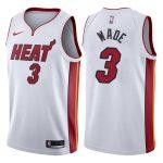 2017-18 Dwyane Wade Miami Heat #3 Association White