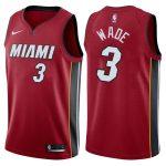 2017-18 Dwyane Wade Miami Heat #3 Icon Red