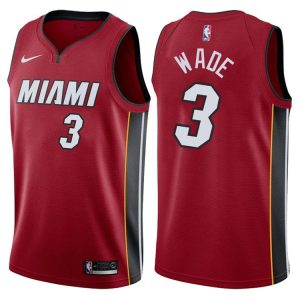 2017-18 Dwyane Wade Miami Heat #3 Icon Red