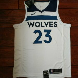 2017-18 Jimmy Butler Minnesota Timberwolves #23 Association White