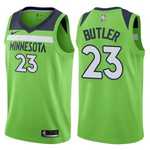 2017-18 Jimmy Butler Minnesota Timberwolves #23 Statement Green