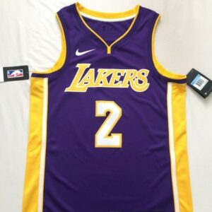 2017-18 Lonzo Ball Los Angeles Lakers #2 Statement Purple