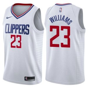 2017-18 Lou Williams Los Angeles Clippers #23 Association White