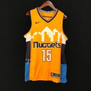 2017-18 Nikola Jokic Denver Nuggets #15 Statement Gold