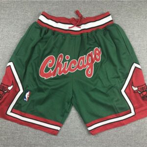 2019 Just Don Chicago Bulls Shorts Green