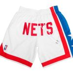2019 Just Don New Jersey Nets Shorts White