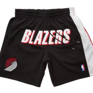 2019 Just Don Portland Trailblazers Shorts Black