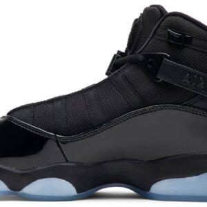 Air Jordan 6 Rings Black Ice 1