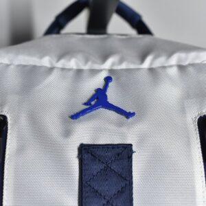 Air Jordan Retro 11 Backpack White Metallic Blue