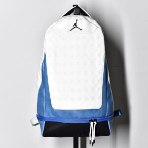 Air Jordan Retro 13 Backpack White Blue