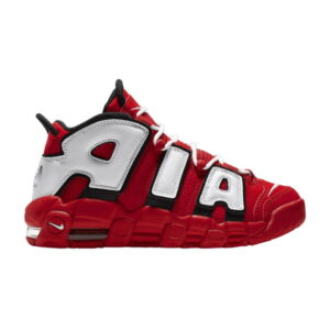 Air More Uptempo University Red Black White (GS)