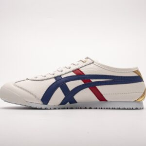 Asics Onitsuka Tiger Mexico 66 Blue Red Metallic Gold