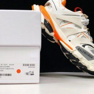 Balenciaga Track Trainer White Orange