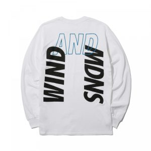 MADNESS x WIND AND SEA LONG SLEEVE PRINT TEE White