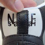 Nike Blazer Mid x Sacai Black Grey-17