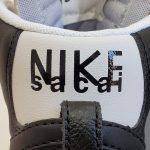 Nike Blazer Mid x Sacai Black Grey-18