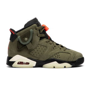 Travis Scott x Air Jordan 6 Retro GS Olive