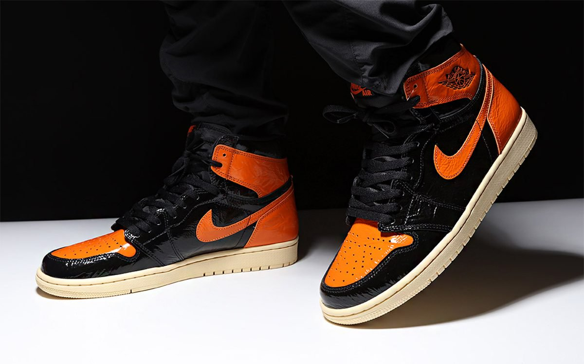 "Первый взгляд// Air Jordan 1 ""Shattered Backboard"" 3.0"