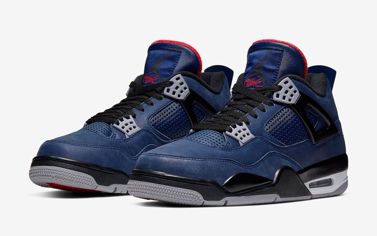 Официальный взгляд на Winterized Air Jordan 4 «Loyal Blue»