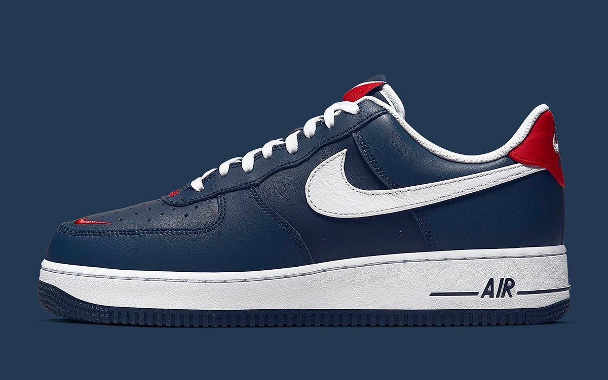 Nike Air Force 1 представили Swoosh по-новому