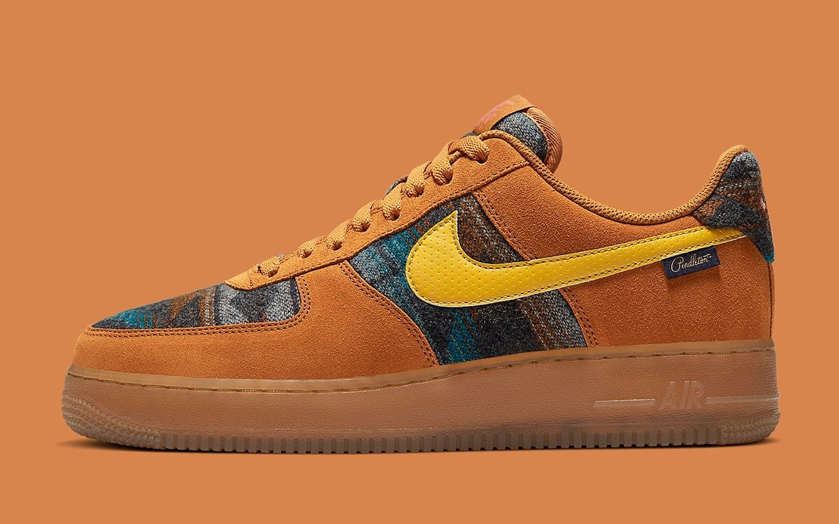 Nike показали the Pendleton-Popped Air Force 1 Low N7