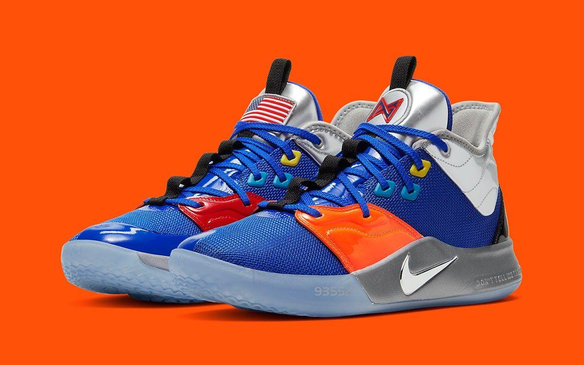 NASA x Nike PG 3 «Apollo-14» выйдет в день премьеры сезона НБА