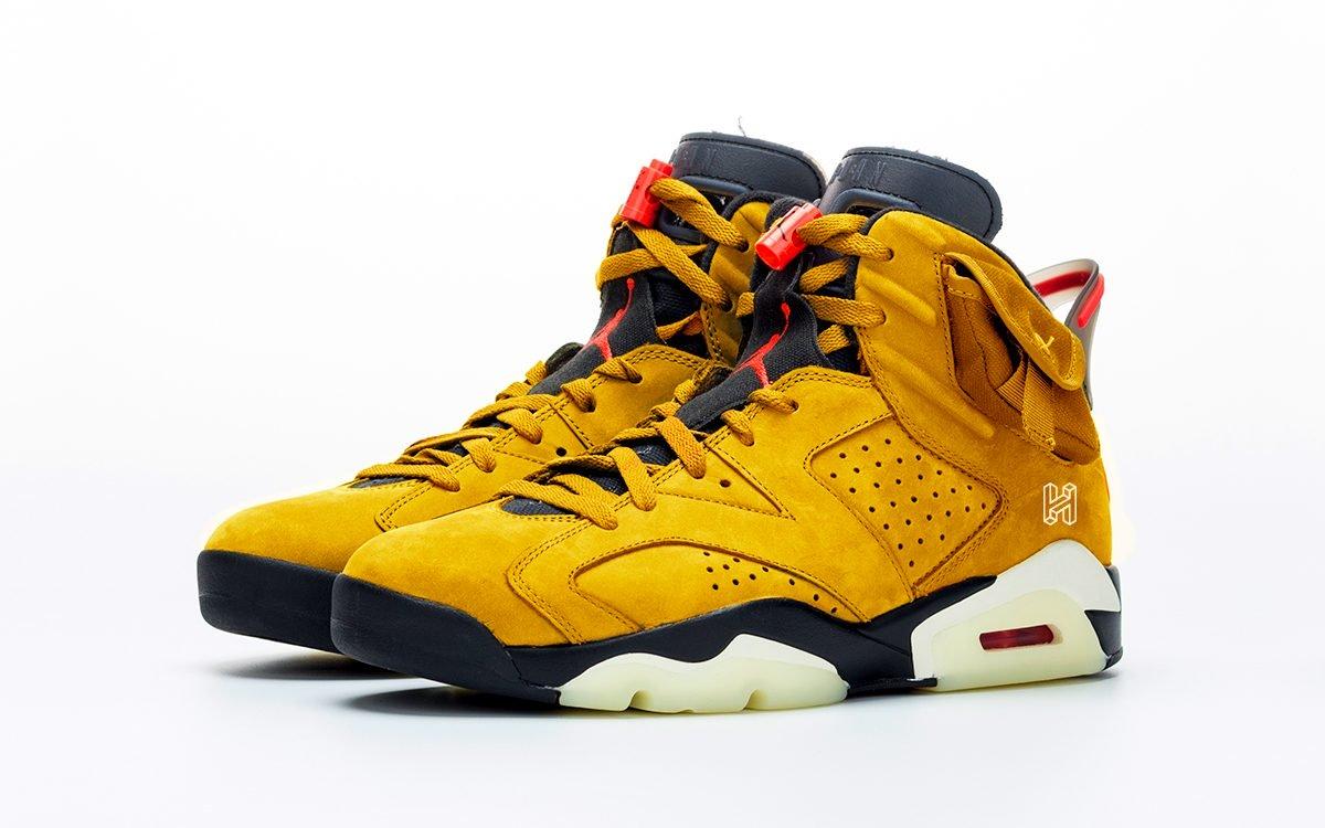 Yellow Travis Scott Air Jordan 6, по слухам, выйдут в 2020 году