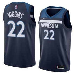 2017-18 Andrew Wiggins Minnesota Timberwolves #22 Icon Navy