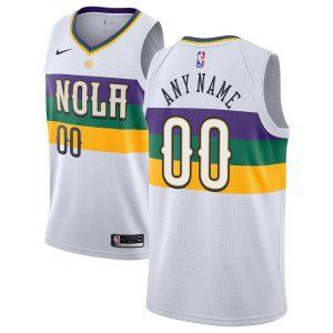 2018-19 New Orleans Pelicans Swingman Custom City Edition White