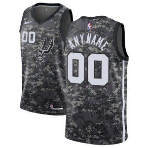 2018-19 San Antonio Spurs Swingman Custom City Edition Black