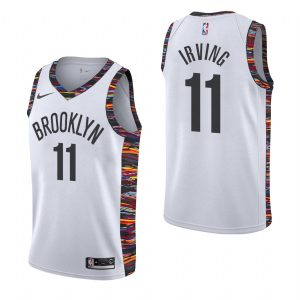 2019-20 Brooklyn Nets Kyrie Irving #11 White City