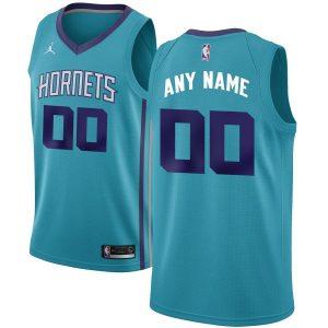 2019-20 Charlotte Hornets Swingman Custom Teal - Icon Edition