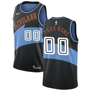 2019-20 Cleveland Cavaliers Hardwood Classics Custom Swingman Black