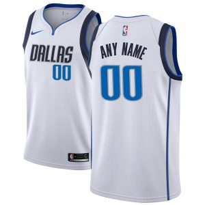 2019-20 Dallas Mavericks Custom Swingman White Association Edition