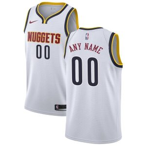 2019-20 Denver Nuggets Swingman Custom Association Edition White