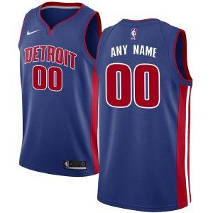 2019-20 Detroit Pistons Swingman Custom Blue Icon Edition