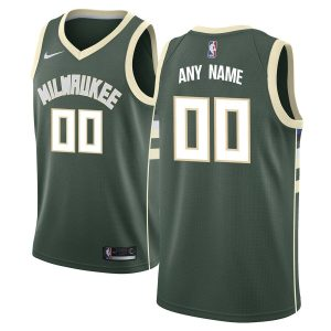2019-20 Milwaukee Bucks Swingman Custom Green Icon Edition