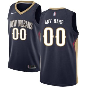 2019-20 New Orleans Pelicans Swingman Custom Navy Icon Edition