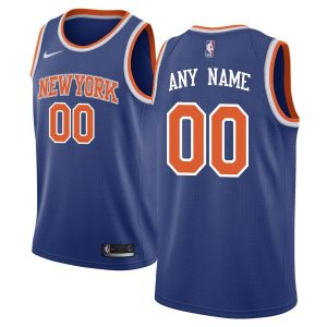 2019-20 New York Knicks Swingman Custom Blue Icon Edition