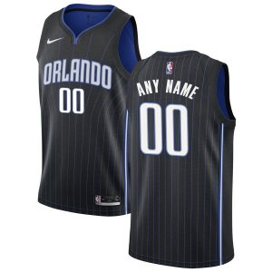 2019-20 Orlando Magic Custom Swingman Icon Edition Black