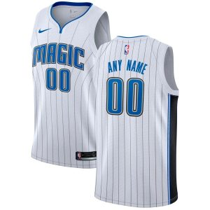 2019-20 Orlando Magic Custom Swingman White Association Edition