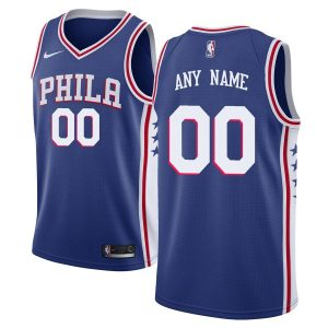 2019-20 Philadelphia 76ers Swingman Custom Blue Icon Edition