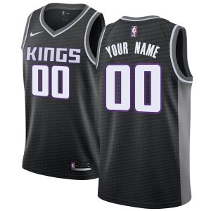2019-20 Sacramento Kings Swingman Custom Black Statement Edition