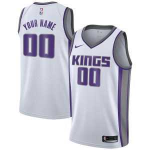 2019-20 Sacramento Kings Swingman Custom White Association Edition