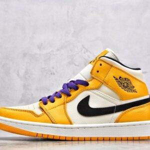 Jordan 1 Mid SE Lakers