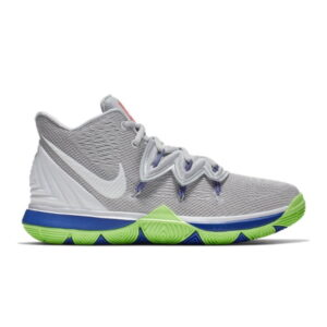 Kyrie 5 Wolf Grey Lime Blast GS