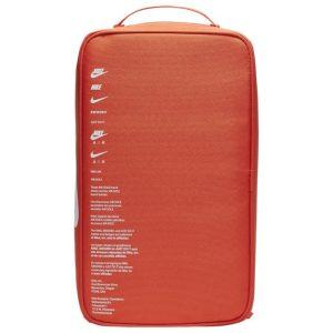 Nike Orange Shoe Box Bag