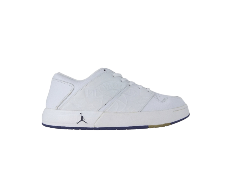Nu Retro Air Jordan 1 Low White Midnight Navy
