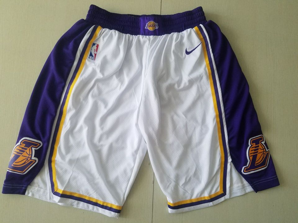 2019-20 Los Angeles Lakers Association Swingman White